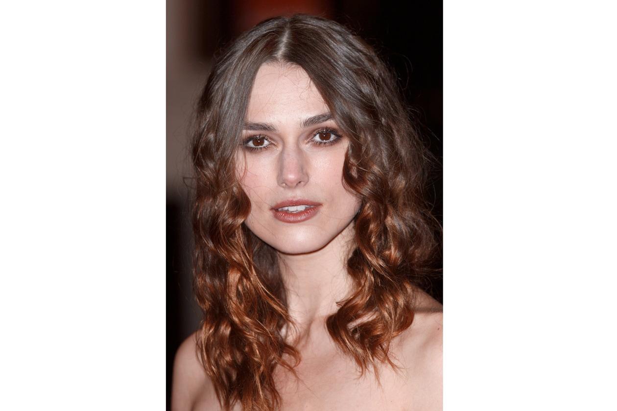 Make up leggero e capelli ricci per i Bafta Awards del 2008