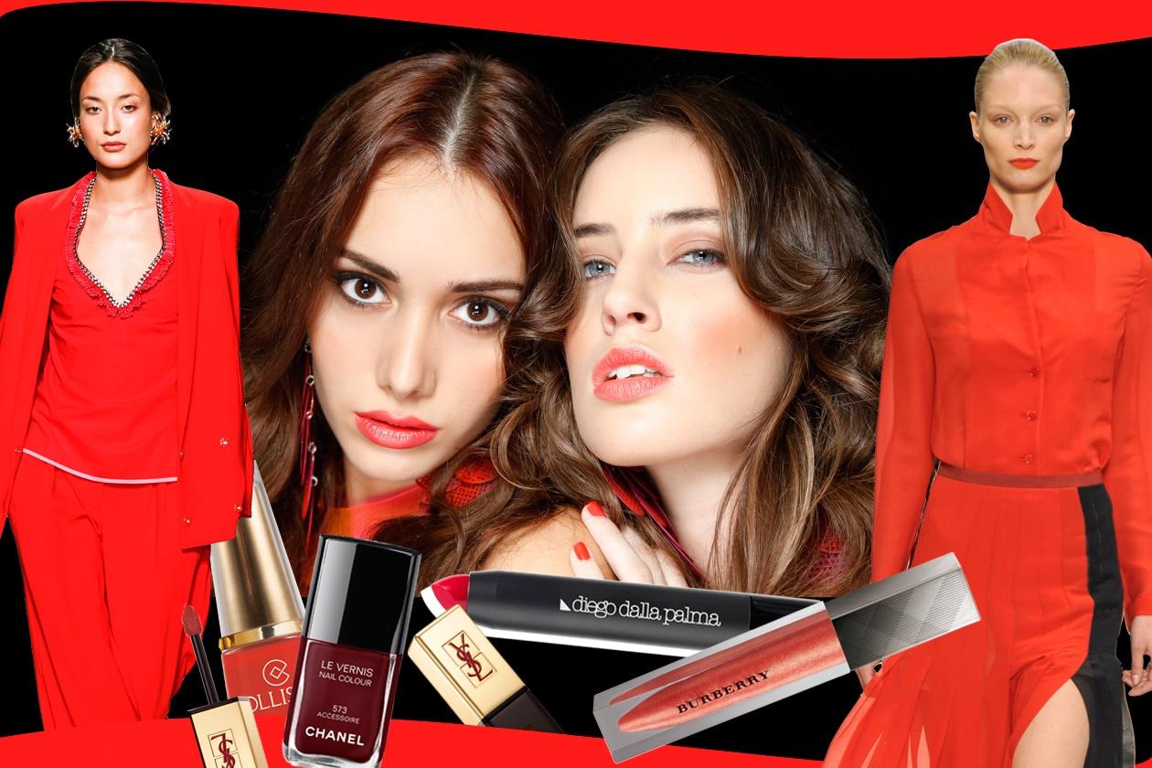 Passione, ottimismo, vitalità. Il make up primaverile si tinge di rosso nella sua variante più luminosa e vitaminica, il Poppy Red