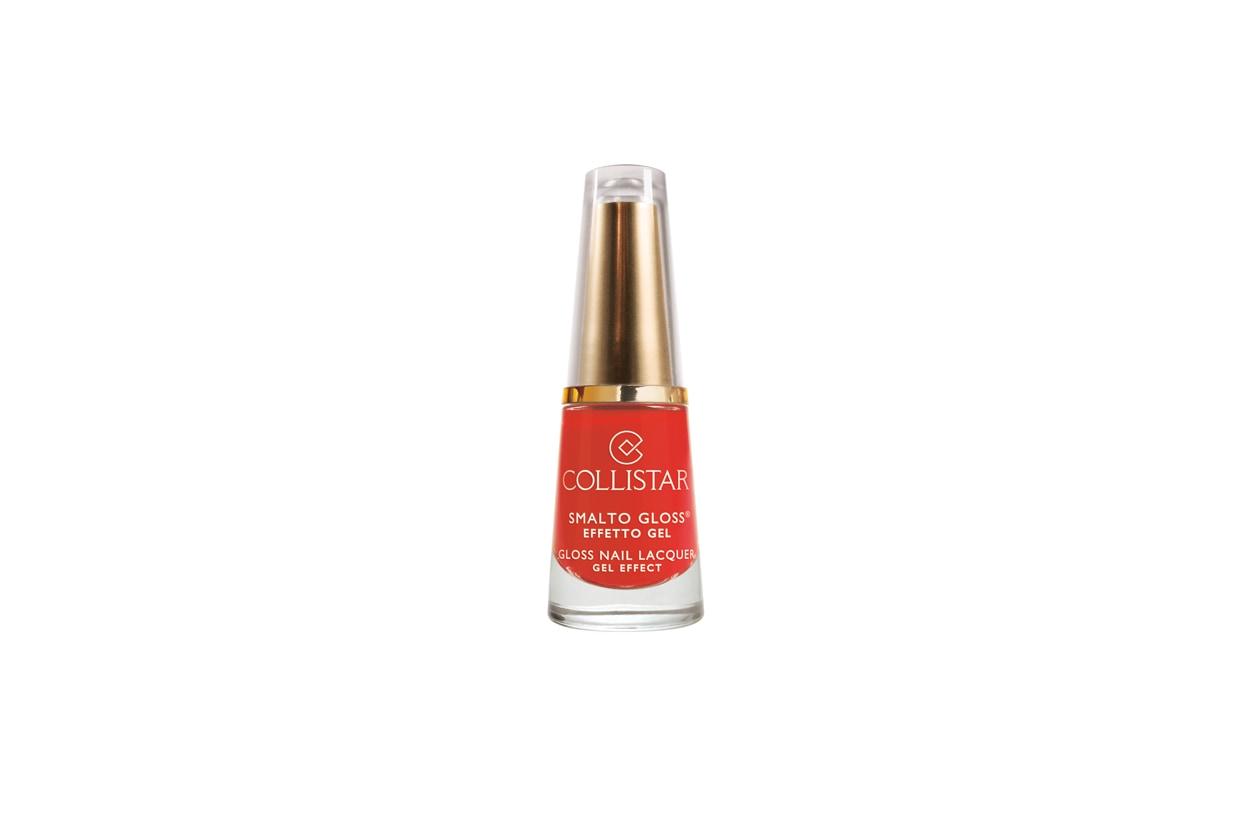 Per un manicure effetto gel c'è il nuovo Smalto Gloss® Effetto Gel 543 Arancio Energica di Collistar