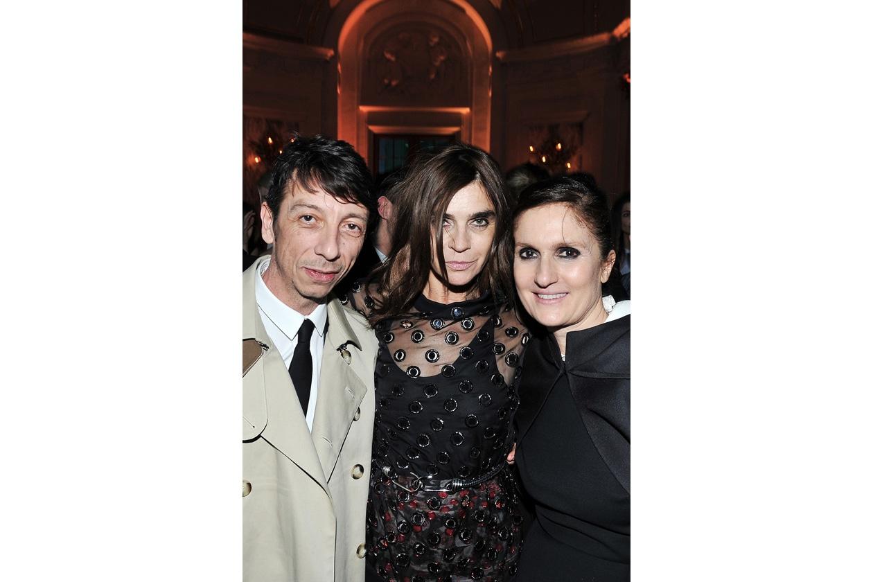 Pier Paolo Piccioli, Carine Roitfeld & Maria Grazia Chiuri