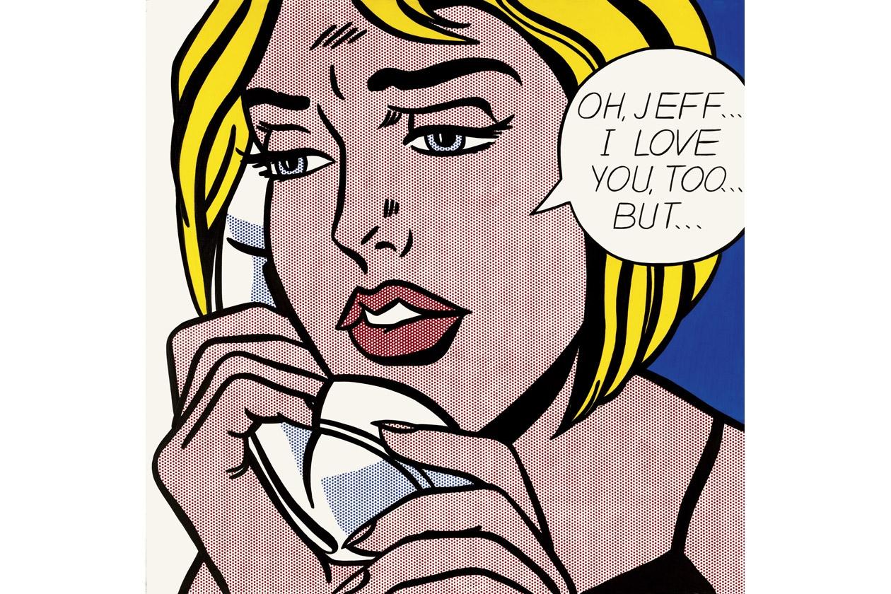 Roy Lichtenstein telefono