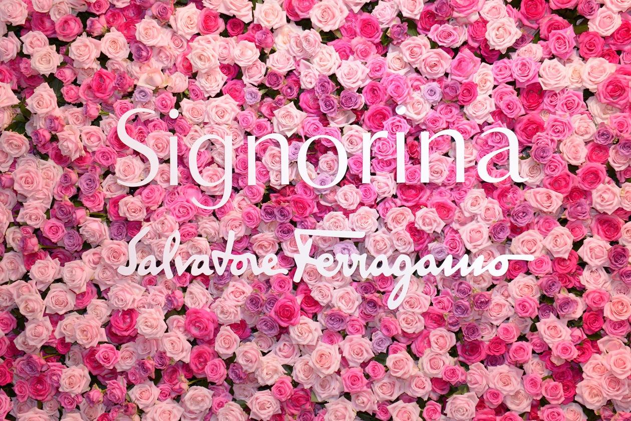 Signorina Flower wall