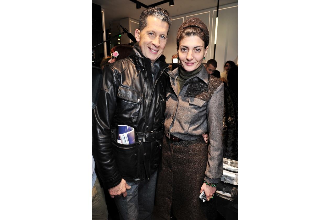 Stefano Tonchi & Giovanna Battaglia
