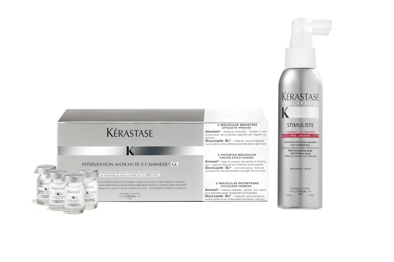 Stimuliste di Kerastase è il primo trattamento quotidiano Anticaduta a l'Aminexil GL
