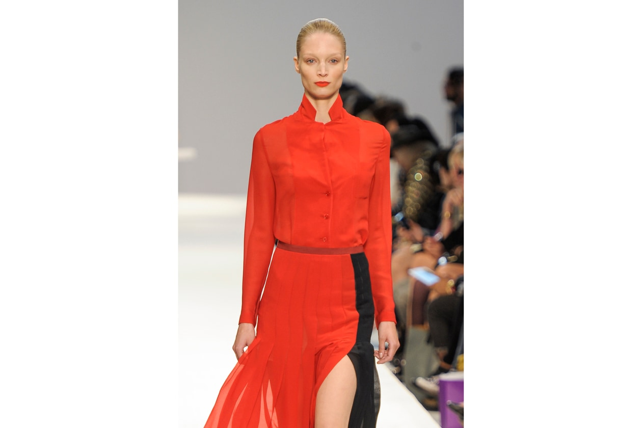 Totol look red per Paul Smith