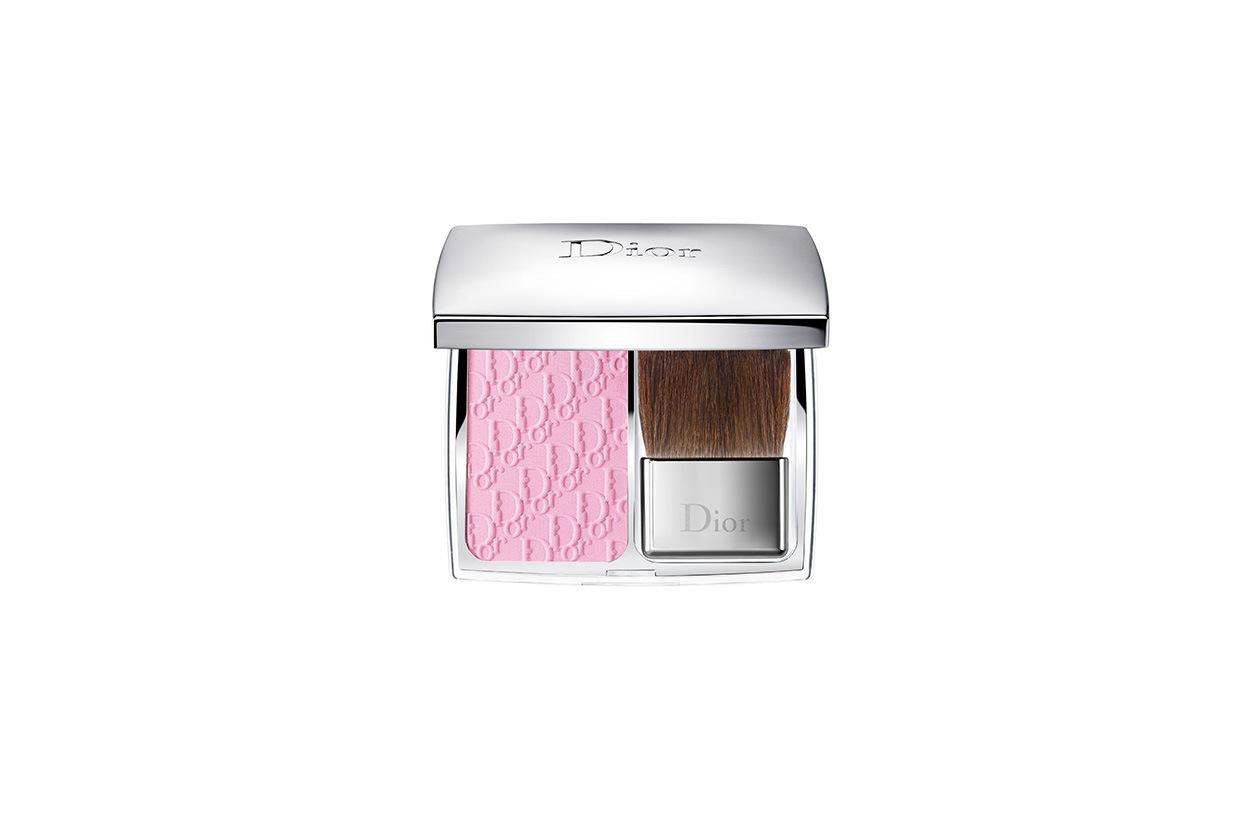 Un blush che ravviva il colorito per un effetto bonne mine naturale il Rosy Glow di Dior