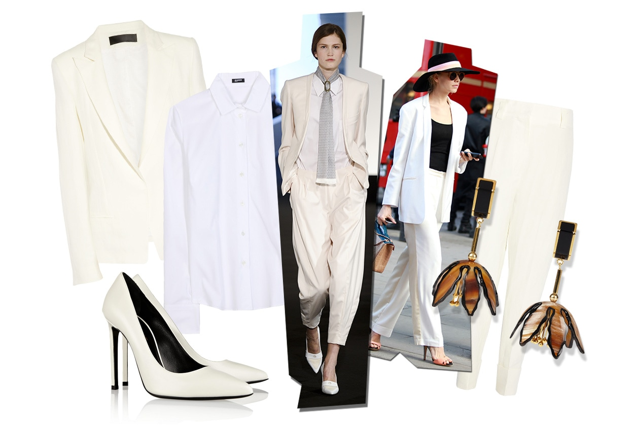 Fashion Top List Suits 024 Symphony in white