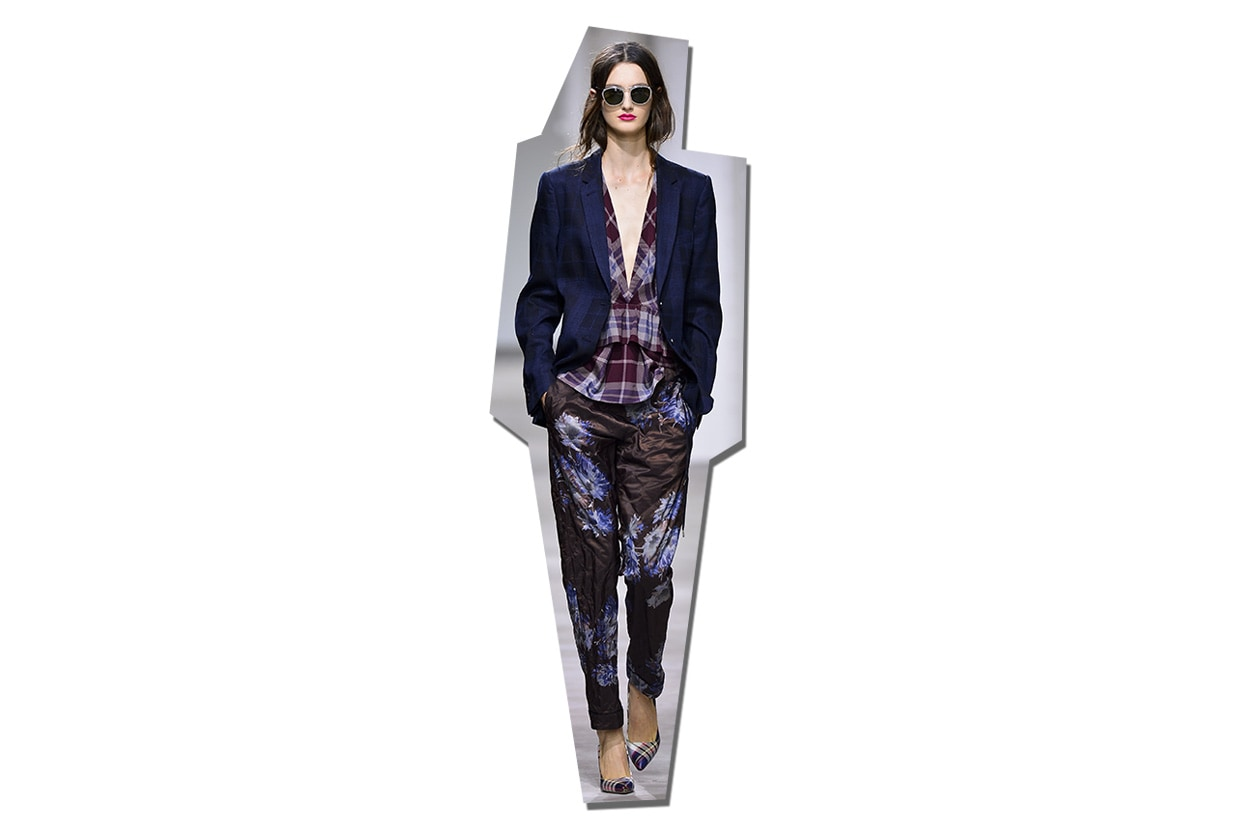 Fashion Top List Suits 010 Mix 'n' match Dries Van Noten ful S13