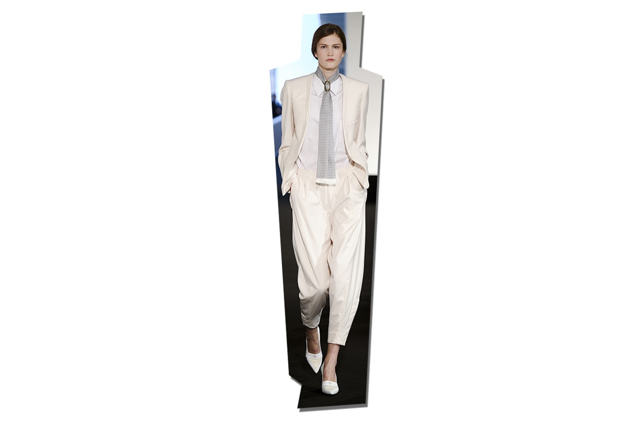 Fashion Top List Suits 025 Symphony in white Hermes ful S13