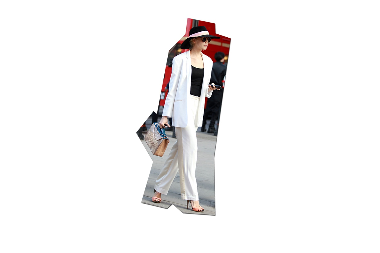 Fashion Top List Suits 026 Symphony in white London