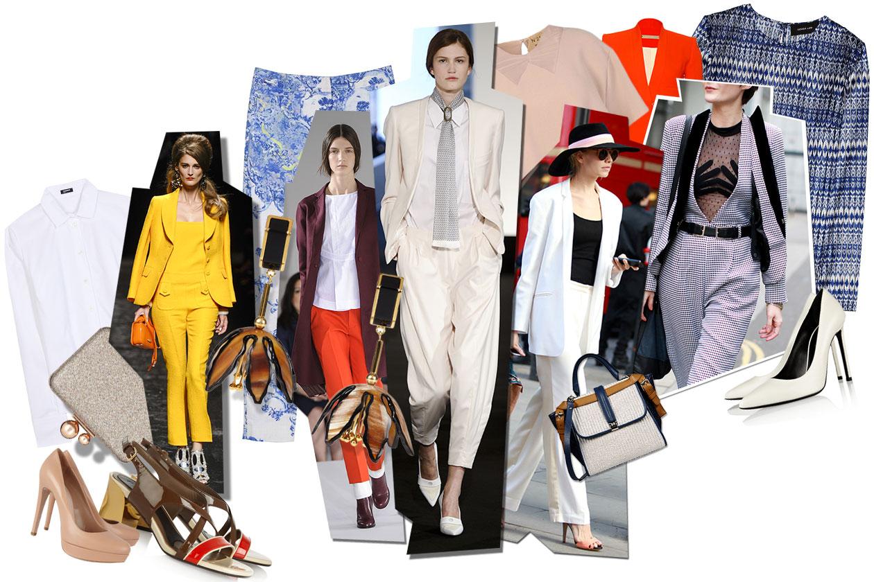 Spring Suits: tutte pazze per il completo