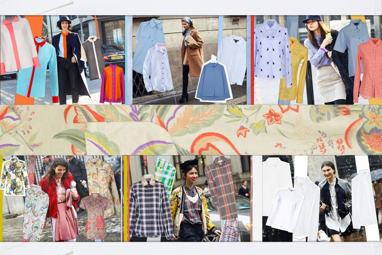 Dallo street style sei trend per le camicie della P/E 2013