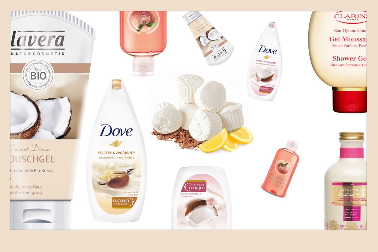 Detersione corpo: i prodotti per un bagno di relax e benessere