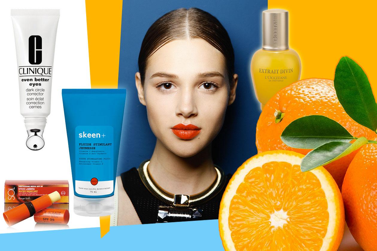 Prodotti alla Vitamina C: pelle più giovane e luminosa