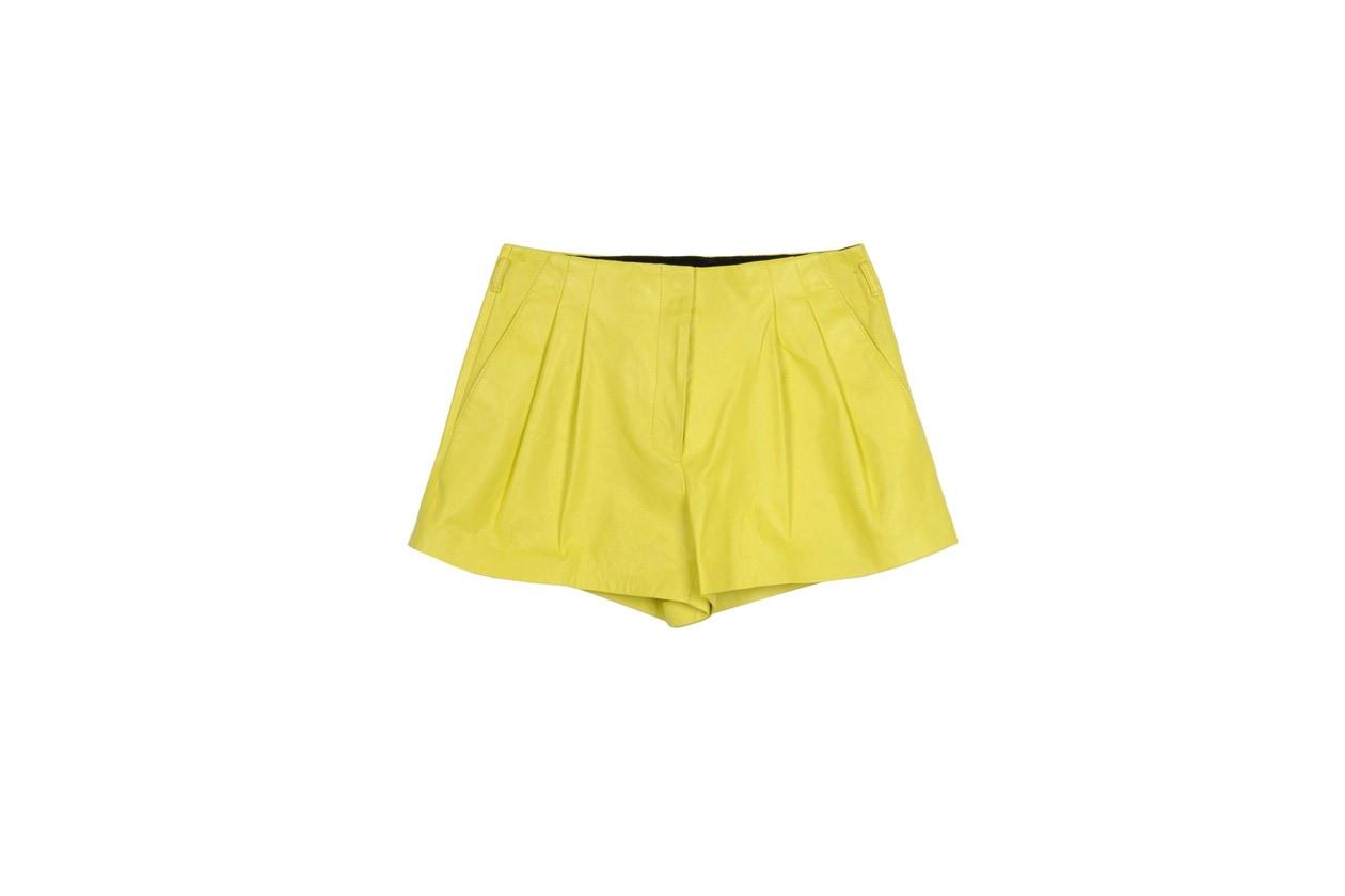 pantaloni pelle proenza schouler the corner