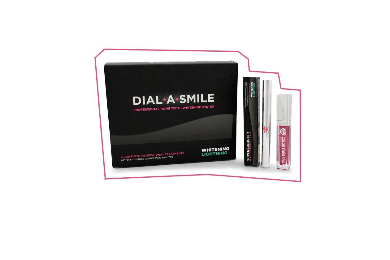 prodotti sbiancamento denti dial a smile