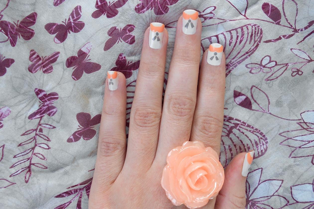 10 CoralParadise nails