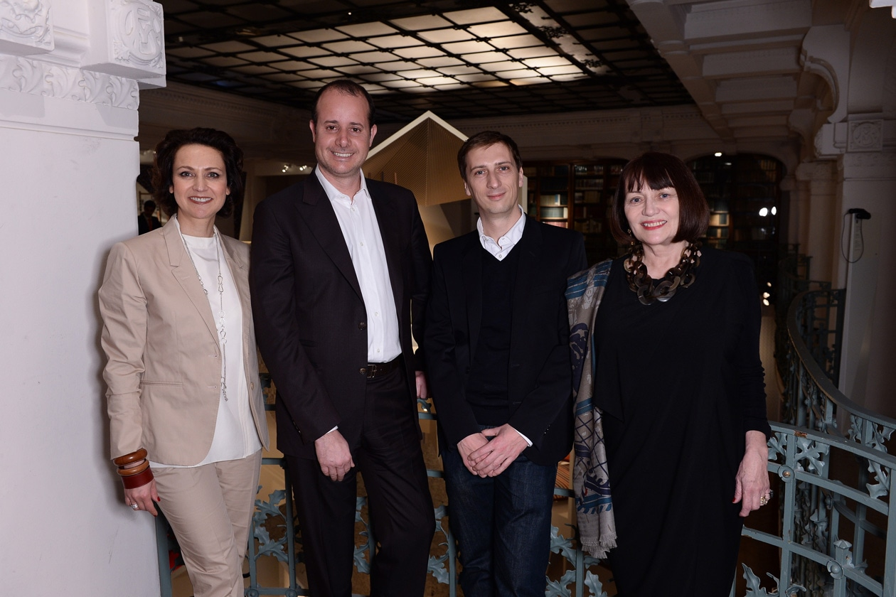 13 Helene Dubrule;Pierre Alexis Dumas;Philippe Nigro;Chantal Granier