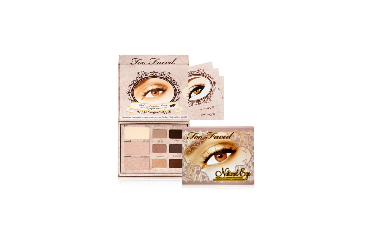 13 too faced natural eye