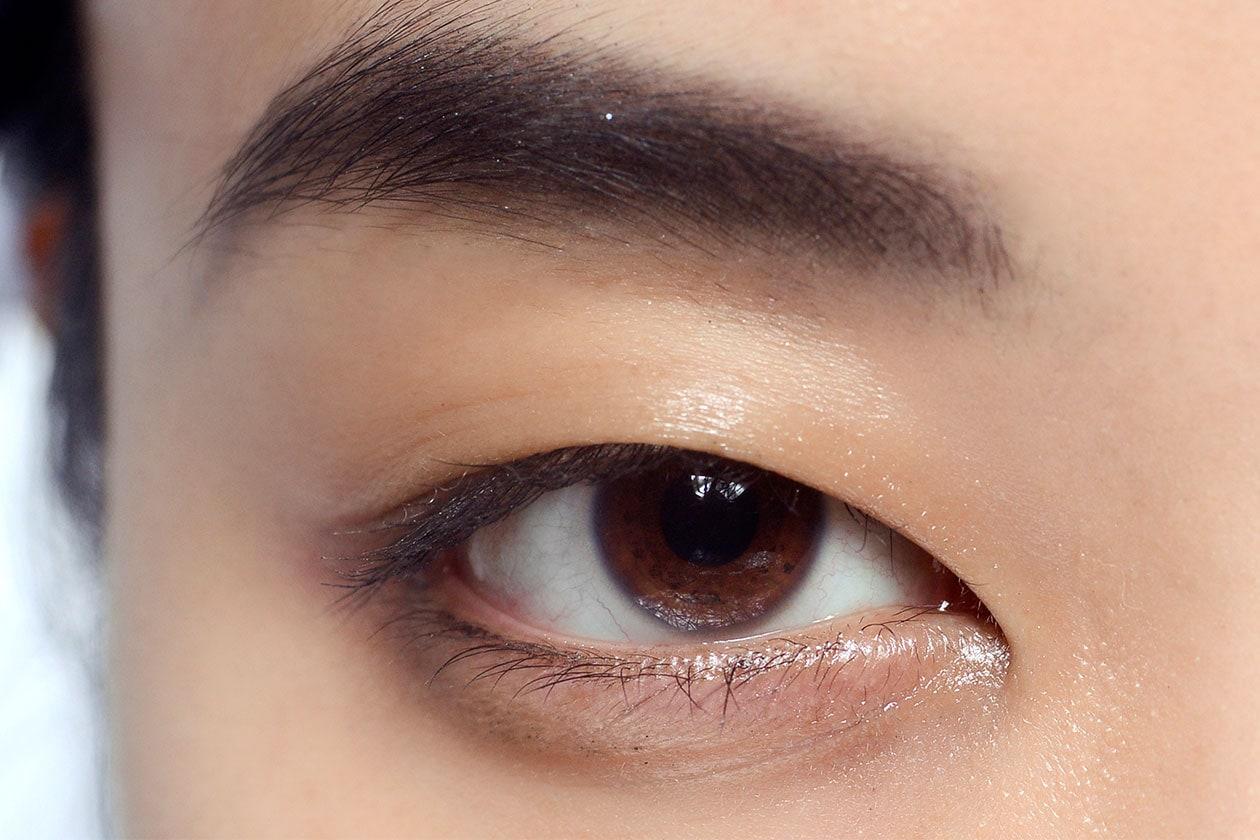 A very bold eyebrow by Rodarte
