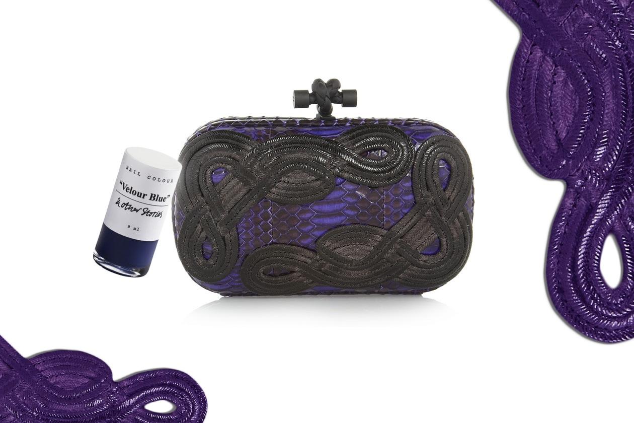 Beauty Clutch e smalti raibow snake clutch bottega veneta P SI 13 1 0153982 017 BY 1 1