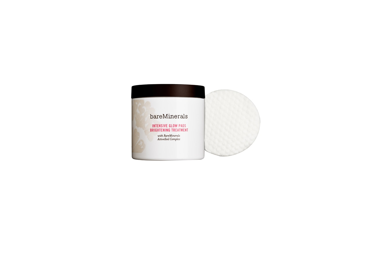 Beauty Scrub gommage viso bareminerals intensive glow pads