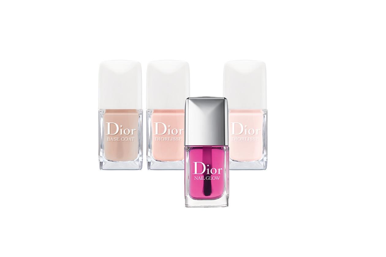 Beauty Smalti Nude Dior trattamento e colore