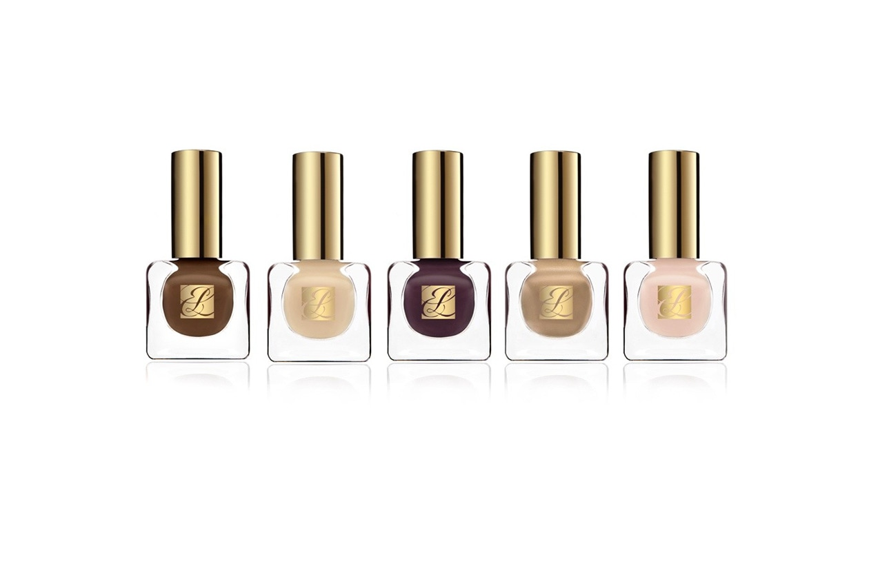 Beauty Smalti Nude French Nude Nails Estee Lauder