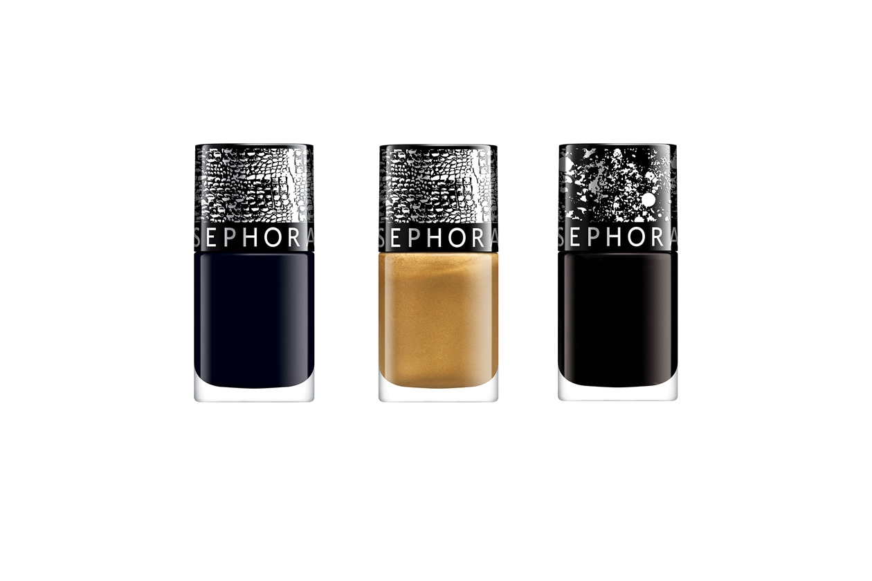 Beauty Smalti effetti speciali Sephora Top Coat Croco e Pois