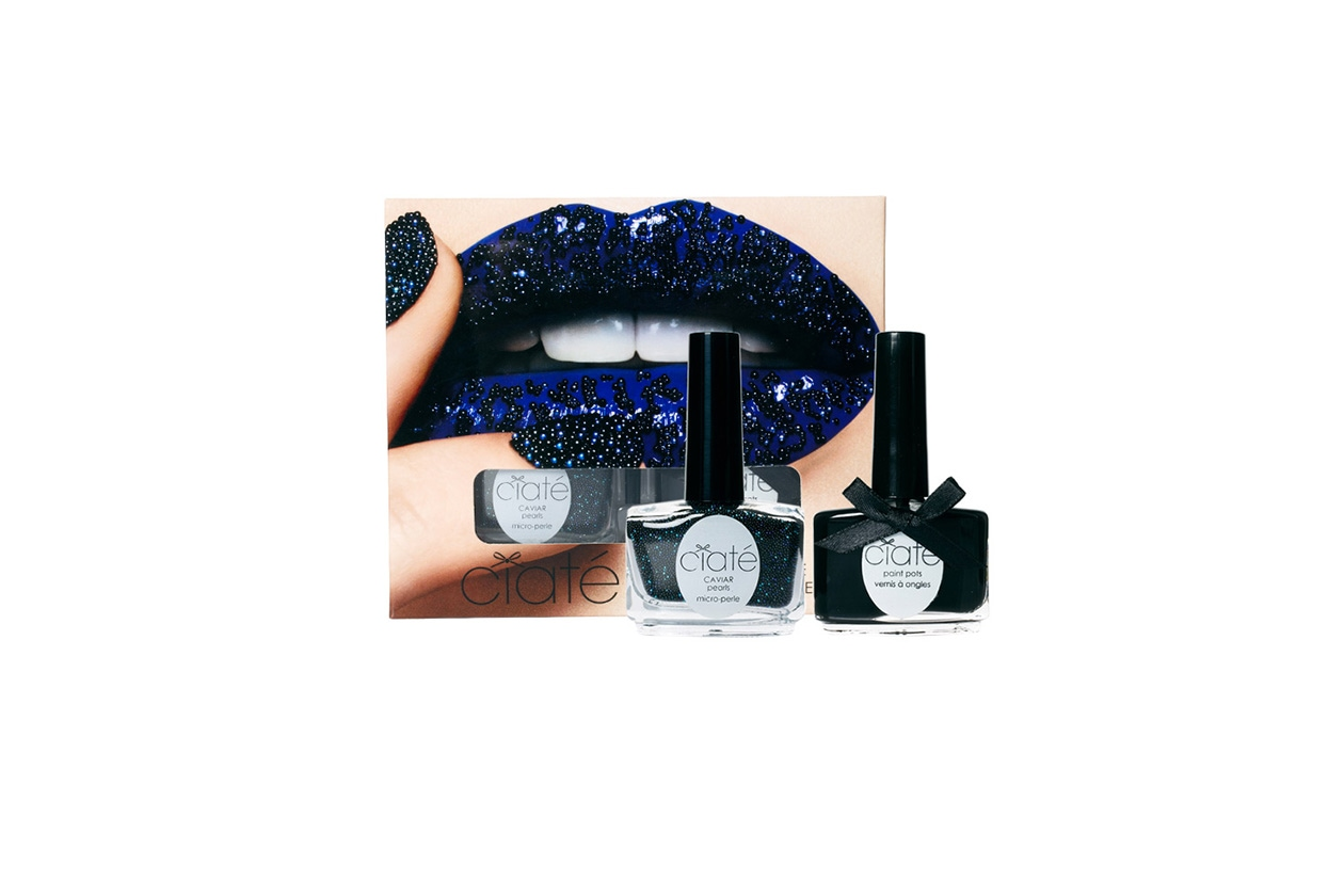 Beauty Smalti effetti speciali ciate caviar black pearls