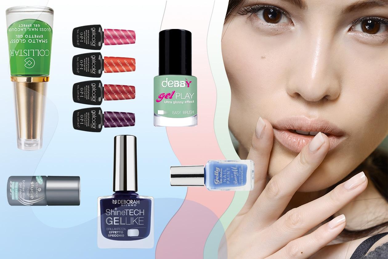 Beauty Smalti effetto gel Cover collage