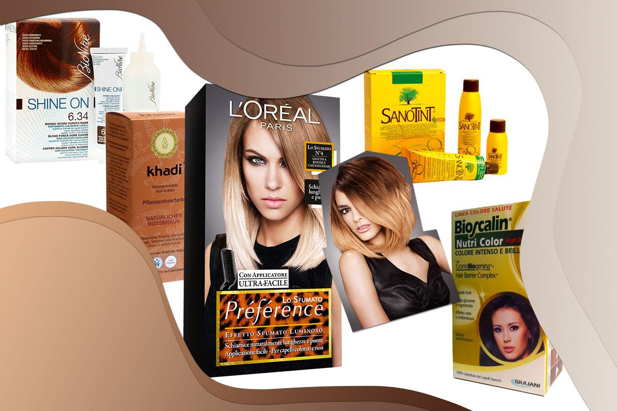 Tinte fai da te: i prodotti per colorare i capelli comodamente a casa