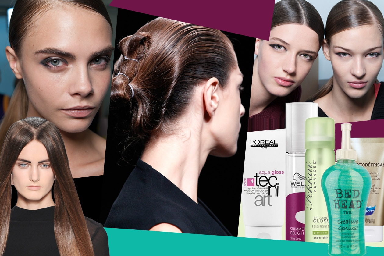 COVER glossy hair