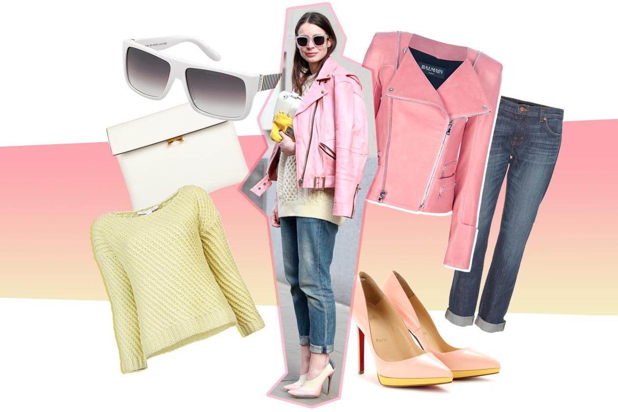 more photos 997d7 64699 Copia il look da pink lady - Grazia.it