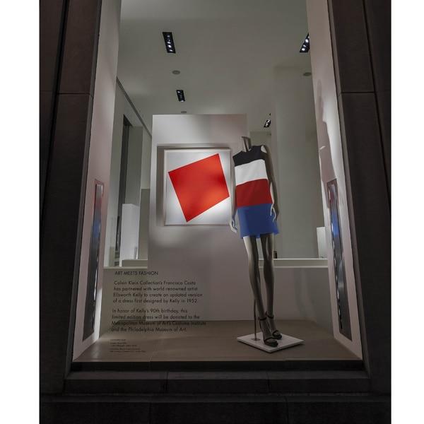 Calvin Klein Collection e Ellsworth Kelly: l'abito tra moda e arte