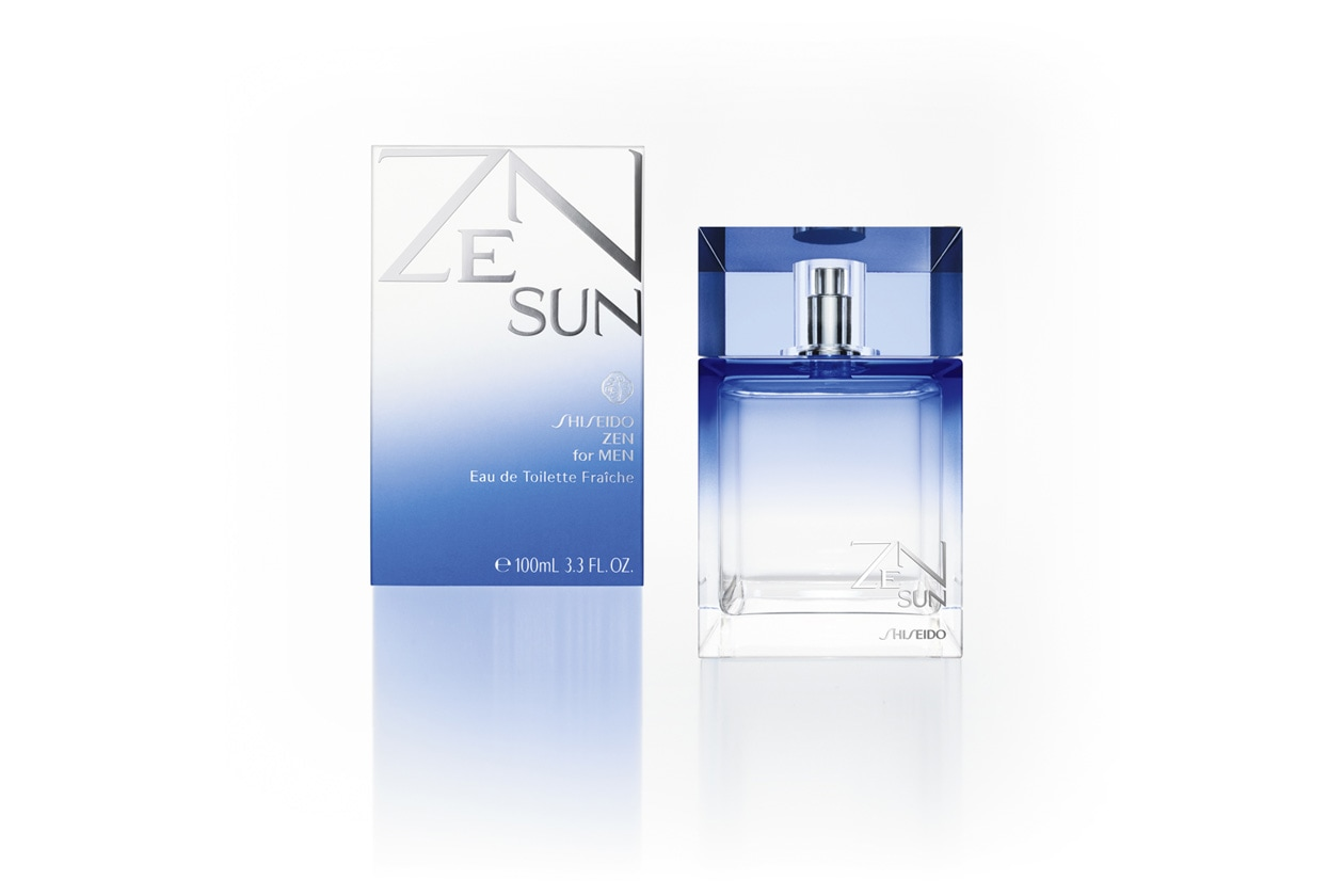 Diretta, fresca e luminosa la declinazione estiva del classico Zen for Men di Shiseido