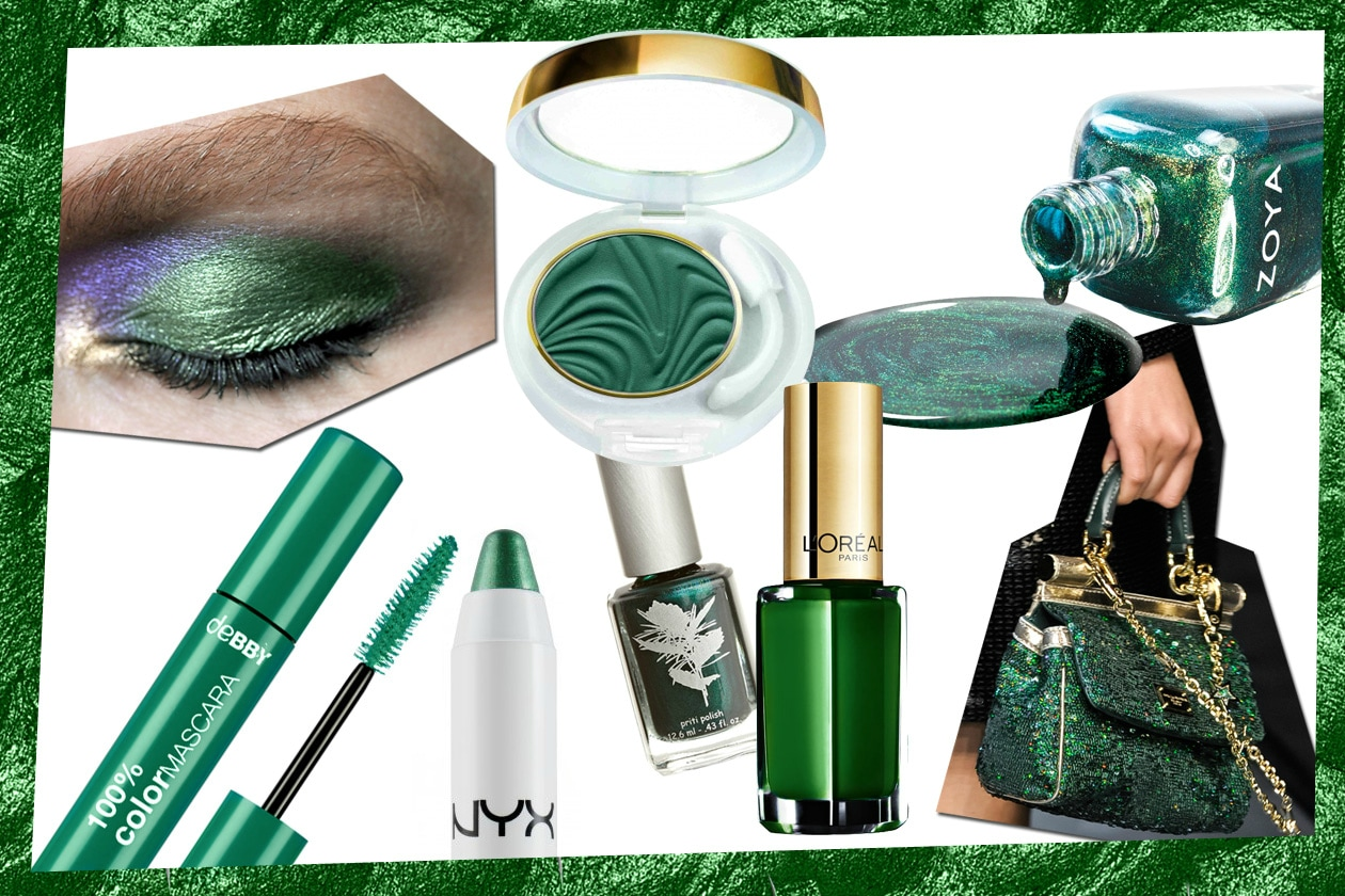 Emerald Green Collage