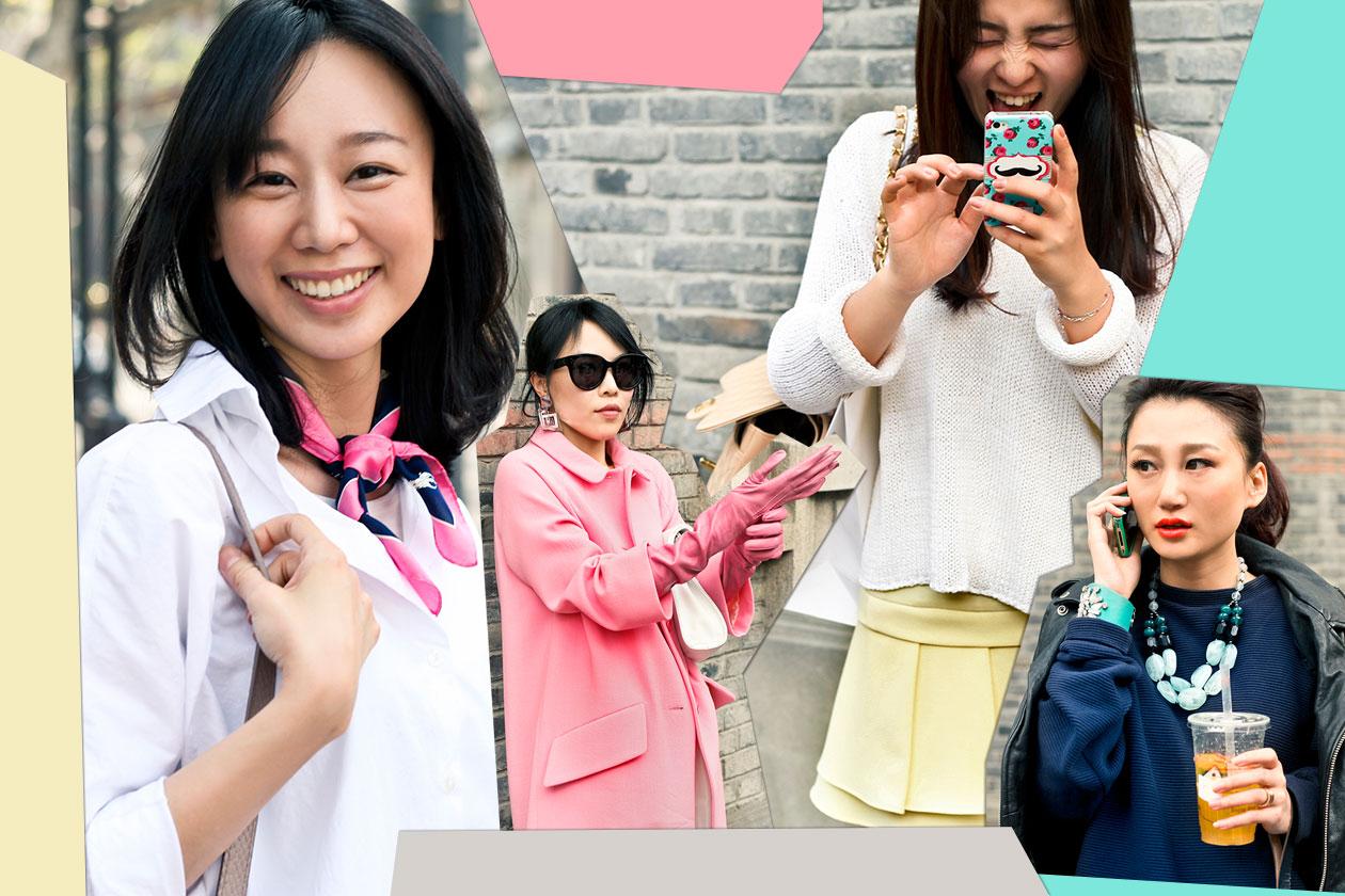 Fashion Cover Shangai street