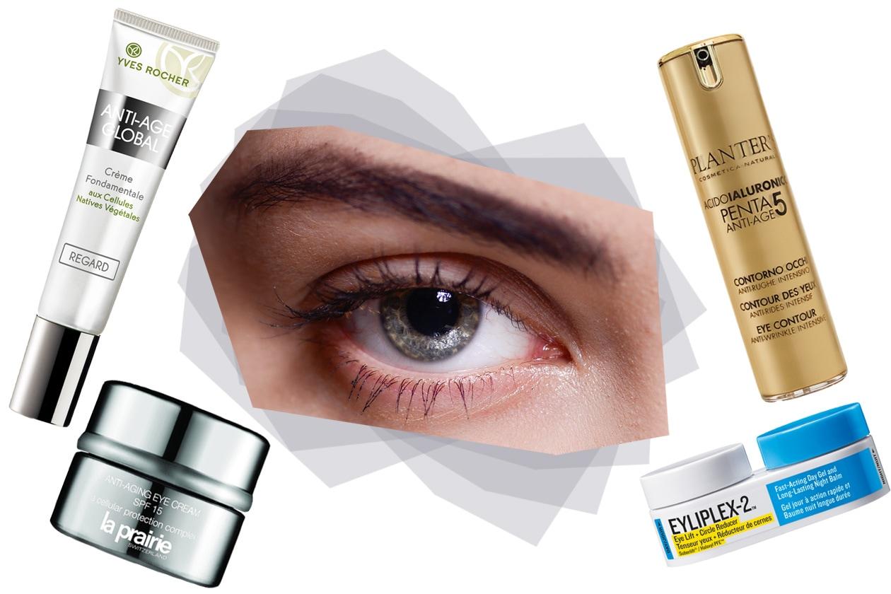 Focus occhi – Crema Yves Rocher – Eye Cream La Prairie – Contorno Occhi Planter's  – Eyliplex-2  GoodSkin Labs