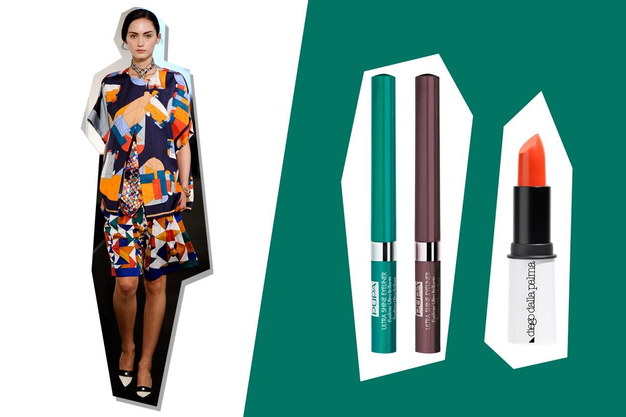 Geometrie a tutto colore per Hermès (Pupa – Diego Dalla Palma)