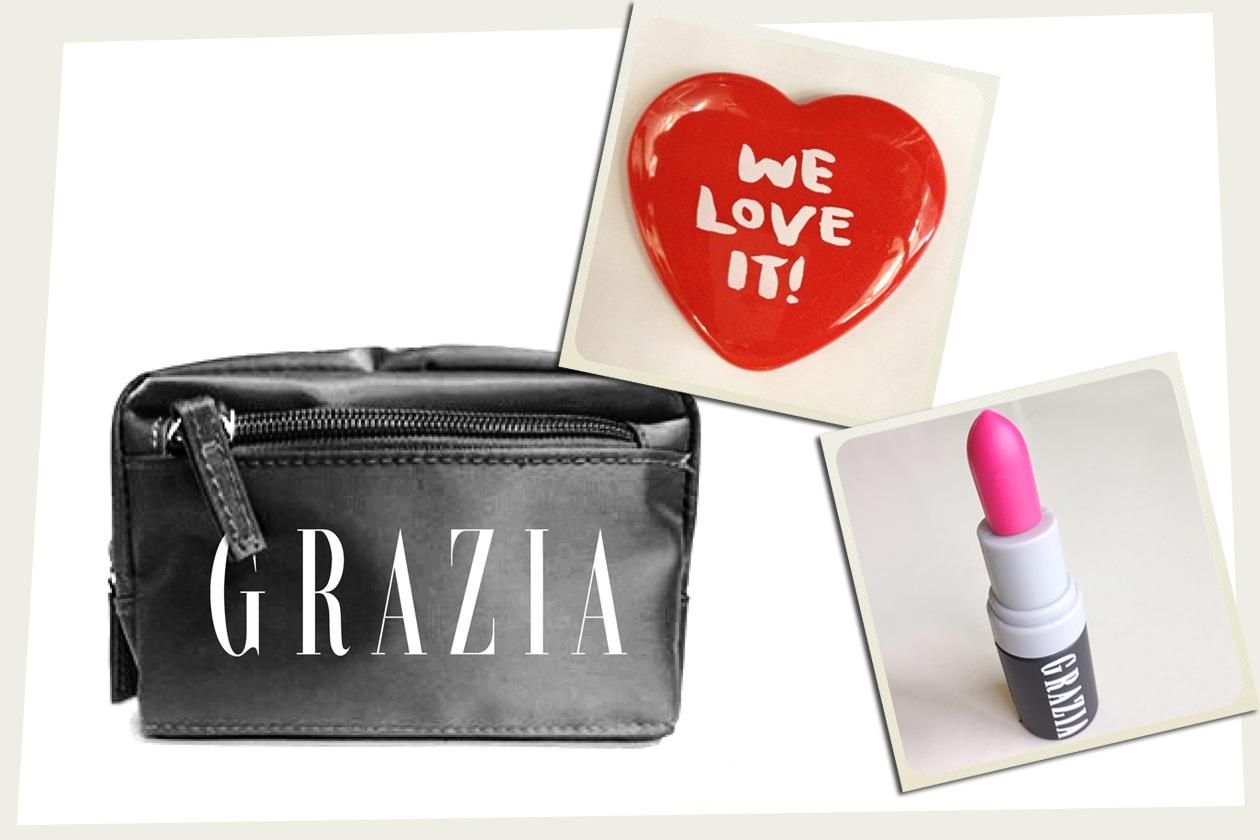 Gioca & Vinci un beauty case con Grazia Magazine e Grazia.IT