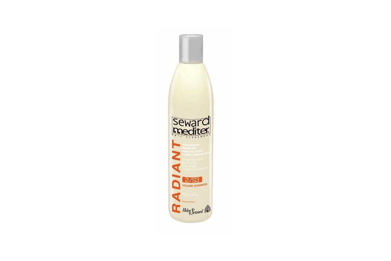 Il Radiant Volume Shampoo 2/S3 di Helene Seward protegge la chioma dai danni dell'inquinamento