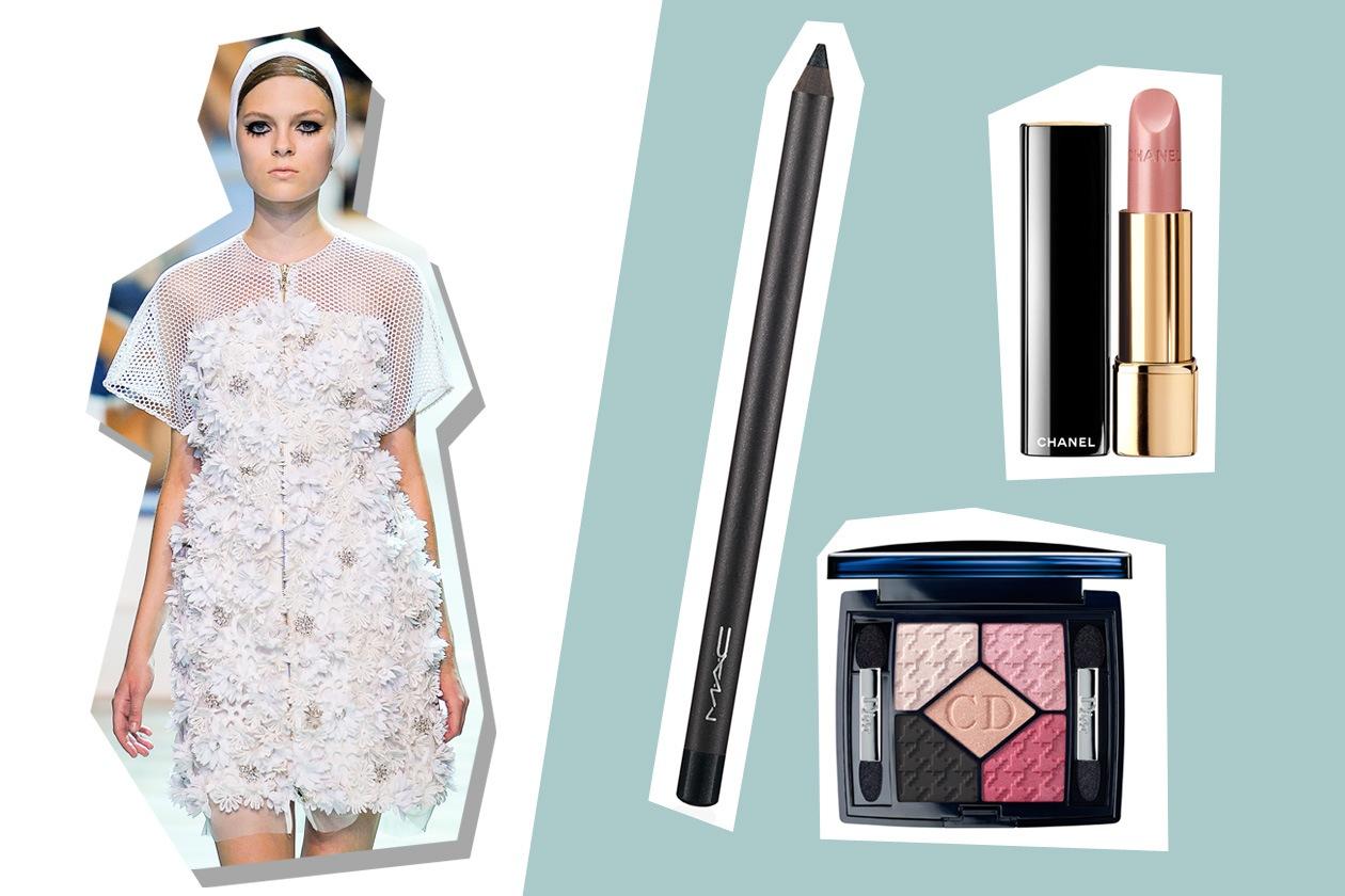 Il mood della Riviera anni Sessanta secondo Moncler Gamme Rouge rivive in fiori e cuffie vintage (Dior – MAC – Chanel)