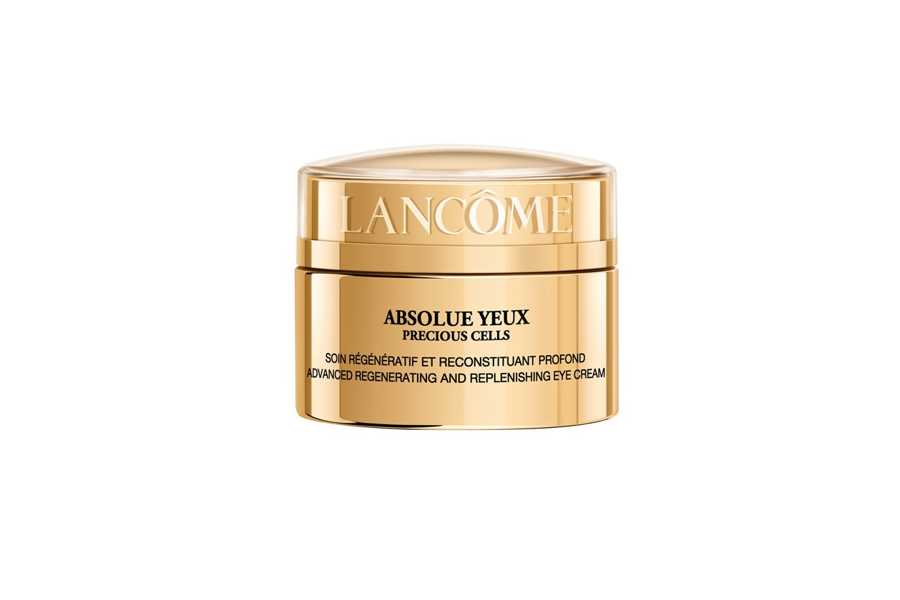 L'Absolue Yeux Preious Cells di Lancome contiene estratto di gelsomino bianco che rende la crema ancora più delicata e piacevole