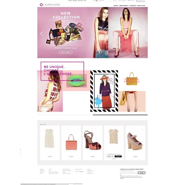 L'Autre Chose rinnova il sito e inaugura l'e-shop