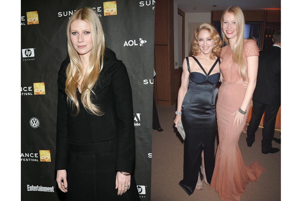 L'attrice è seguace del metodo fitness di Tracy Anderson, la personal trainer di Madonna