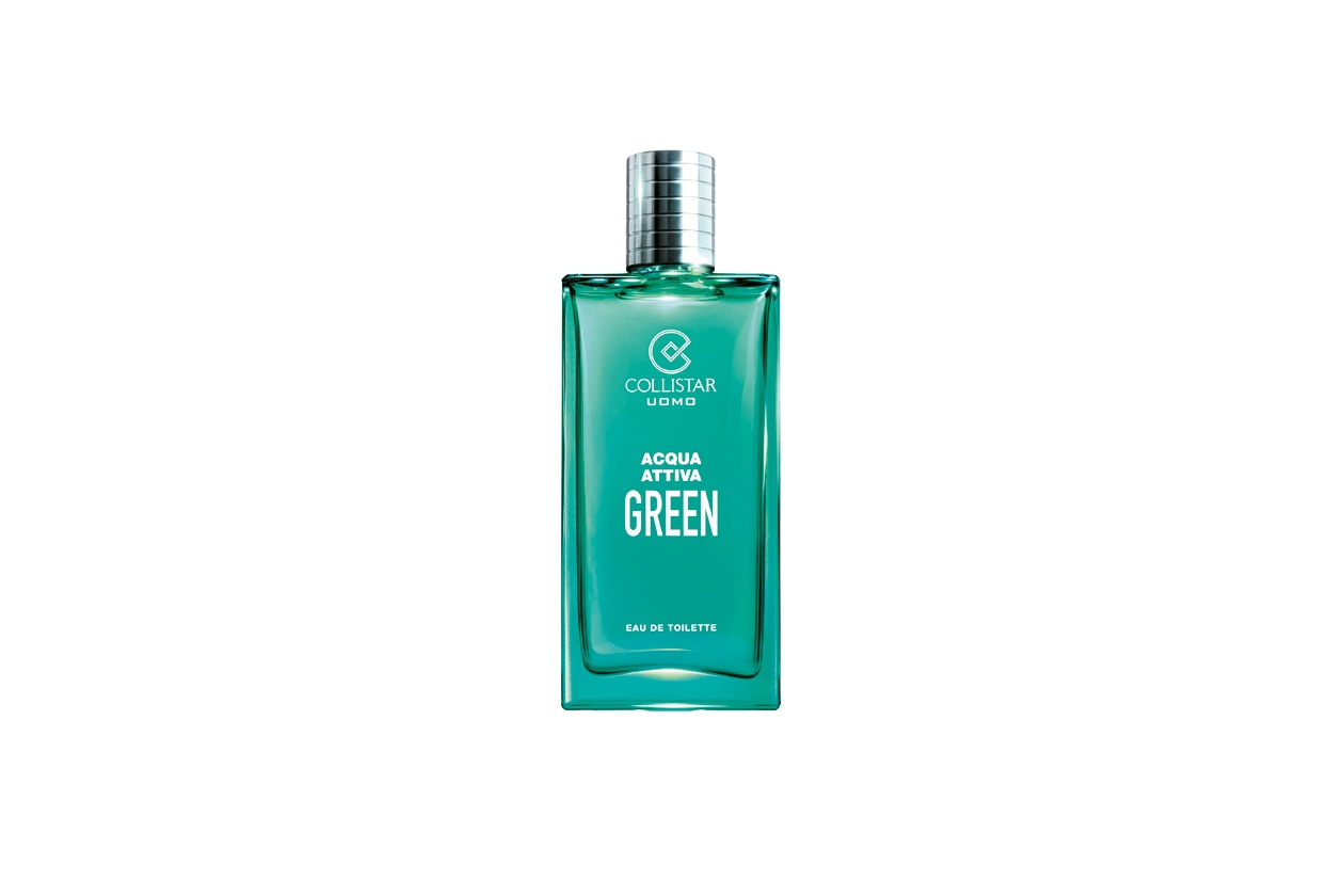 La nuova Acqua Attiva Green della linea Collistar Uomo, in edizione limitata per l'estate 2013, è firmata dal noto parfumer Jacques Huclier