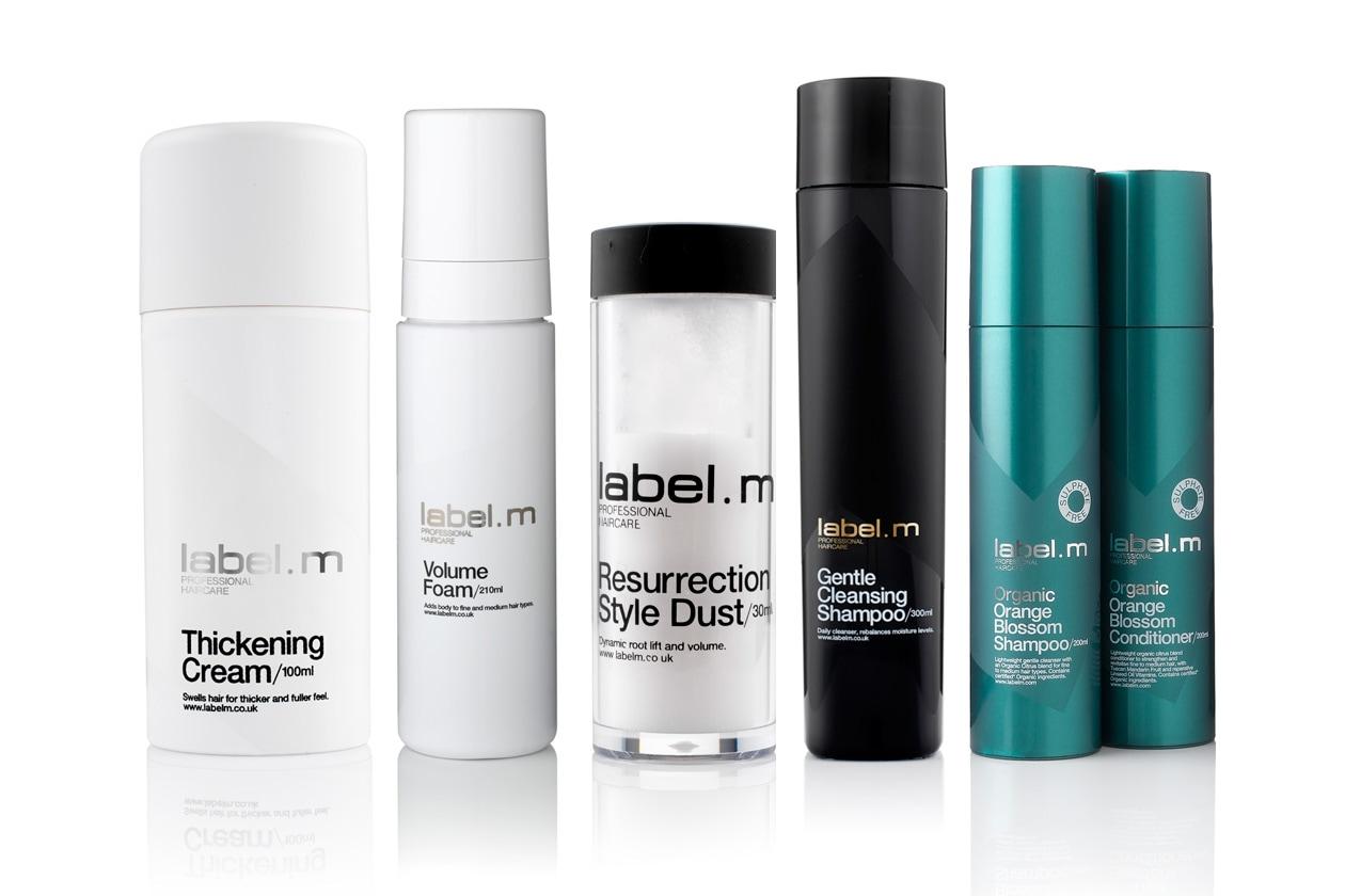 Label.m propone una linea di prodotti che creano volume senza appesantire