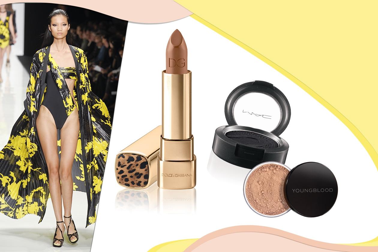 Leonard sceglie giallo e nero per eleganti serate in riva al mare (Dolce&Gabbana – MAC – Youngblood)