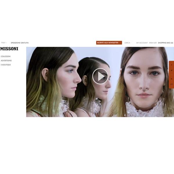 Missoni presenta il nuovo sito